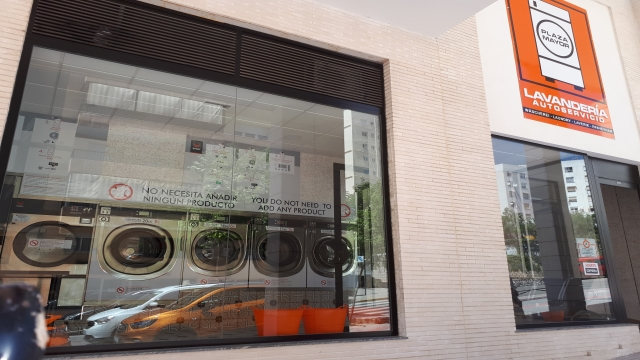 Commercial premises are transferred in full operation as a self-service laundry.