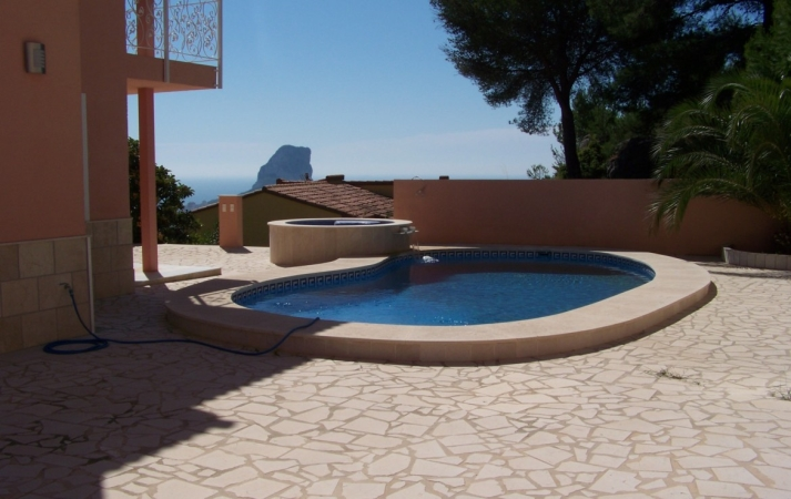 For sale in Calpe-Costa Blanca luxury villa with panoramic views