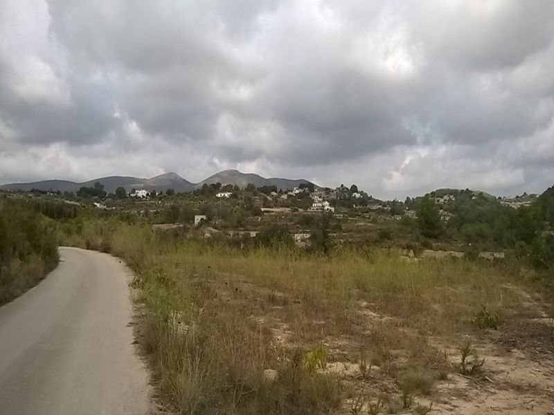 For sale rustic land in Calpe - Alicante