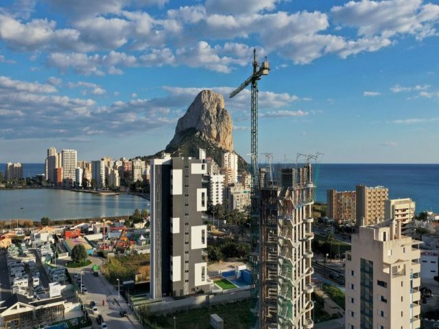 New project in Calpe. ALEXIA CALPE