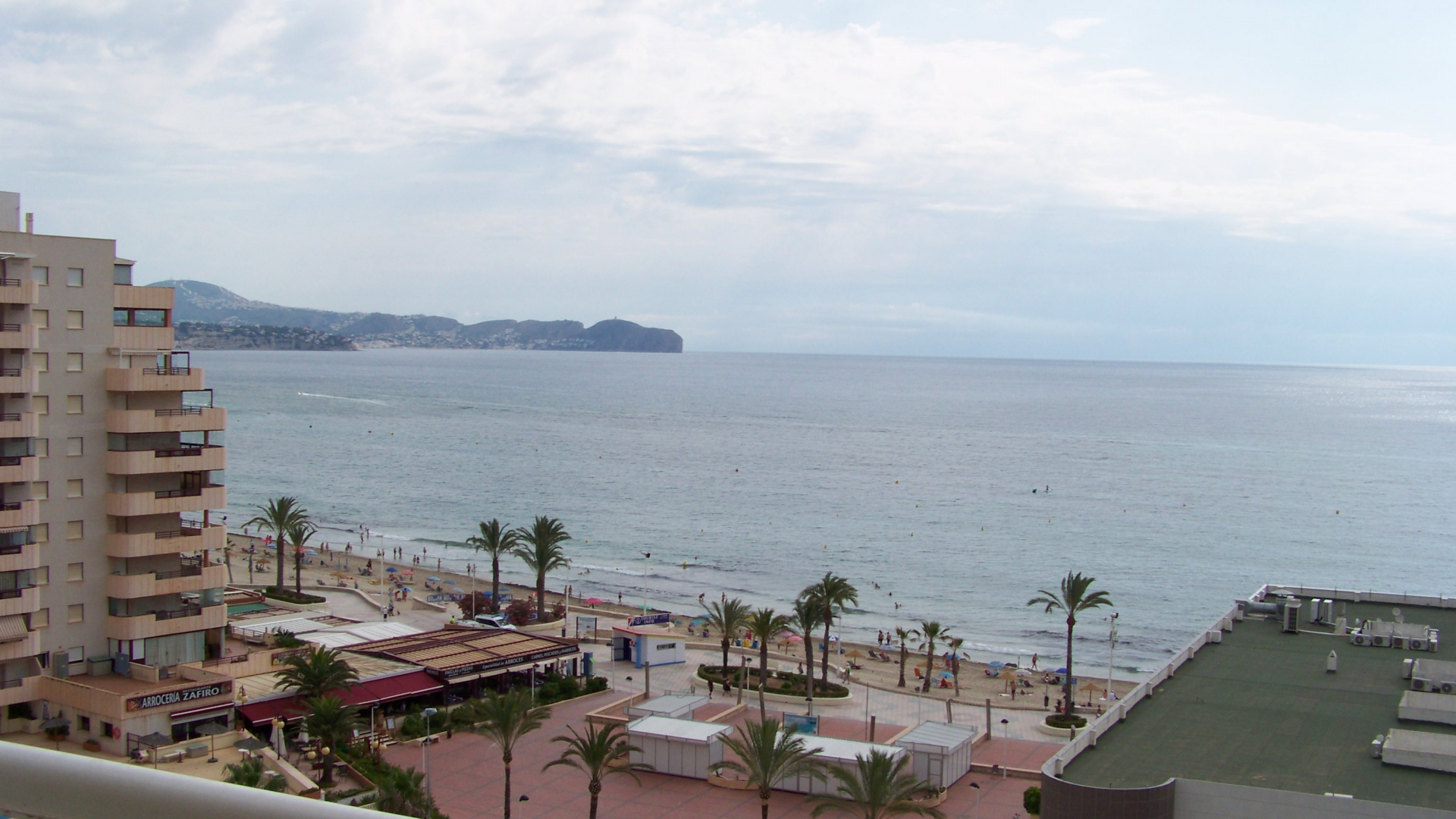 1 bedroom apartment on the Levante beach in Calp.