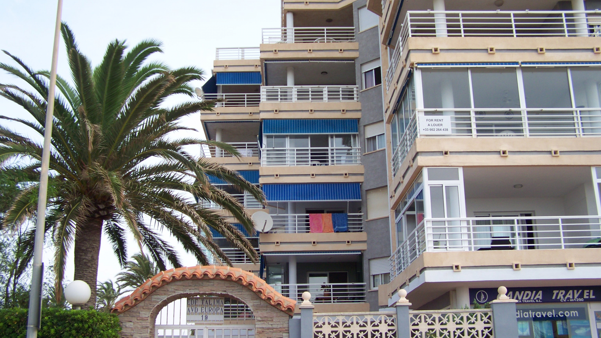 Apartment with 3 bedrooms in Calpe.